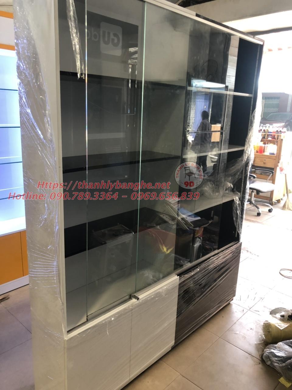 Thanh lý tủ trưng bày đồ phong thuỷ cũ tại TpHCM