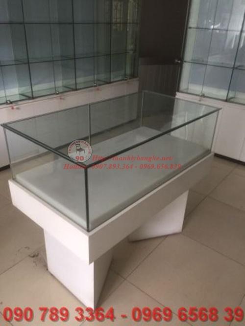 thiết kế tủ kiếng, nhôm kính trưng bày