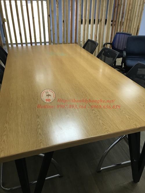 Thanh lý bàn họp văn phòng 1m2x2m4 cũ tại TpHCM