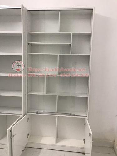 Bán tủ kệ trưng bày mỹ phẩm nhỏ giá rẻ ms 876