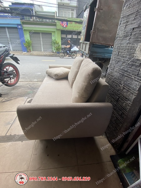Thanh lý băng sofa vải nỉ cao cấp (Có gối ôm kèm theo)