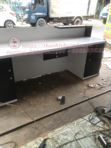 Quầy văn phòng cũ thanh lý 2m2 giá rẻ MS851