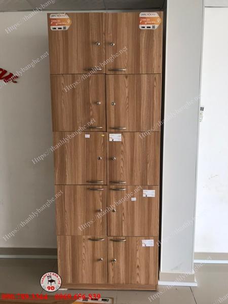 Thanh lý tủ locker 10 ngăn văn phòng giá rẻ MS949