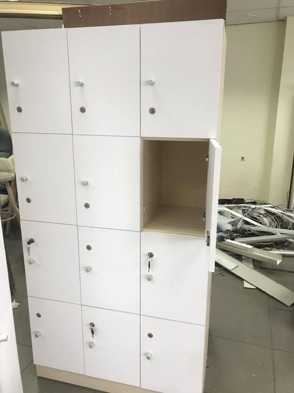 Thanh lý tủ locker ván cũ giá rẻ MS843