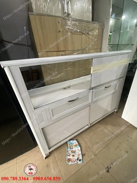 Tủ nhôm kính trưng bày thanh lý giá rẻ MS952