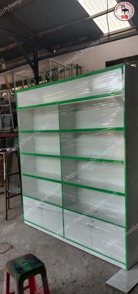 Thanh lý tủ kệ trưng bày cửa hàng cũ giá rẻ MS940
